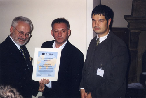 The Dr. Erhard Busek SEEMO Award for Better Understanding in 2002 to Croatian journalist Denis Latin