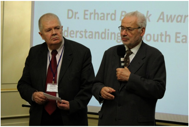 DR. ERHARD BUSEK – SEEMO 2015 AWARD