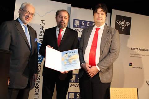 Drago Hedl Wins 'Dr. Erhard Busek – SEEMO 2011 Award' for Better Understanding in South East Europe