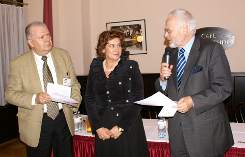 The Dr. Erhard Busek SEEMO Award for Better Understanding in 2008 to Milena Dimitrova from Bulgaria